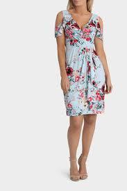 Summer Garden Dresses - leona by leona edmiston summer garden cold shoulder twist dress