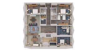 New York City Hilton Midtown 3d Floor Plans Floor Plan 3d Suite