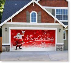gift wrapped christmas garage door i u0027ll be doing this this