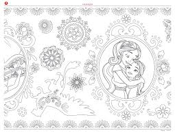 elena of avalor disney coloring pages el dia de los muertos