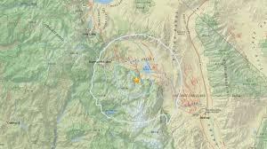 Mammoth Map 4 1 Earthquake Strikes Near Mammoth Lakes Abc30 Com