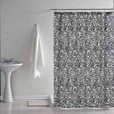 contemporary shower curtain enhances a modern and stylish look to