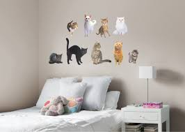 cats wall decal shop fathead for general animal graphics decor
