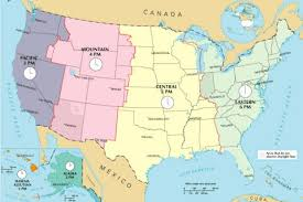 map of time zones usa and mexico united states time zone convertors greenwich time