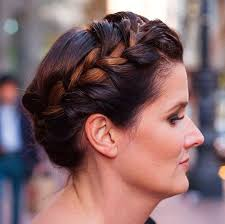 wedding hair updo for older ladies 40 stylish long hairstyles for older women crown braids updo