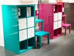 Ikea Kallax Shelving Unit Gloss Turquoise And Pink Office Google Search Design U003e Foyer