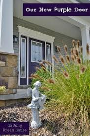 Purple Paint Law by De Jong Dream House Our Purple Door