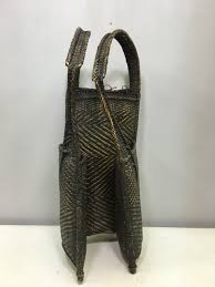 Hunting Decorations For Home by Backpack Laos Rattan Woven Handmade Hand Woven Hunting Food