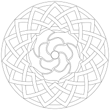 incredible geometric pattern coloring pages with free geometric