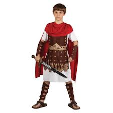 roman centurion kids costume 8 10 years amazon co uk toys
