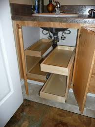 Kitchen Sink Storage Ideas Multi Functional Cabinet Under The Sink With Drawers For Tiny