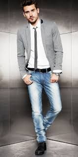 What To Wear With Light Jeans 26 Stylish Casual Friday Men To Try Styleoholic