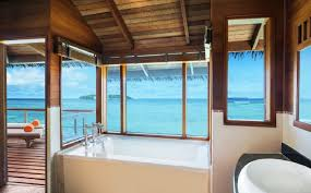 luxury water villas sheraton maldives resort