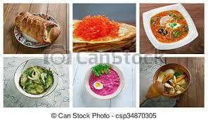 cuisine traditionnelle russe russe cuisine traditionnelle nourriture cuisine photographie