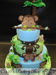 monkey baby shower cake baby shower cakes custom baby shower cakes