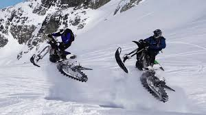 walmart motocross bikes snowbiking in mission behind the walmart c with nixon prosports