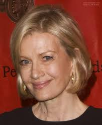 pictures of diane sawyer haircuts diane sawyer wearing her hair in a short bob hairstyle that rests