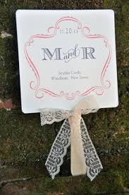 Wedding Programs With Ribbon Fan Wedding Programs Annsley Wiregrass Weddings