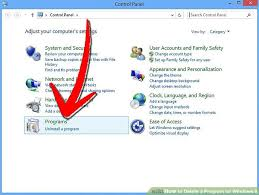 get amazing software uninstall app 4 ways to delete a program on windows 8 wikihow