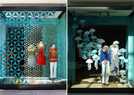 events anthropologie summer window displays backdrop