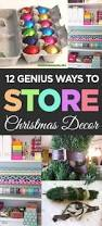 Christmas Decorations Storage Ideas by Best 25 Holiday Storage Ideas On Pinterest Wrapping Paper