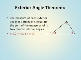 Interior Exterior Angles Sum Of Interior And Exterior Angles In Polygons Ppt Online