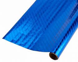 blue foil wrapping paper blue foil wrapping paper shop american greetings