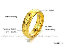 Lord Of The Rings Wedding Band by Download The One Ring Wedding Band Wedding Corners