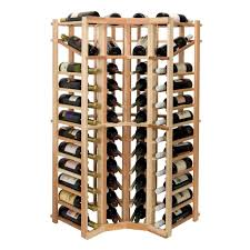 furniture curved wood wine rack cabinet for corner stunning