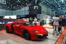 voiture de sport 2016 salons geneve u003e salon de genève les voitures de plus de 1