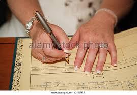 wedding register signing register stock photos signing register stock images alamy