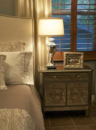 Metal Bedside Table Bedroom Ideas Three Drawers Bedside Table Made Of Solid Wood In