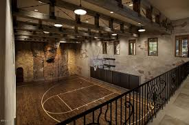 Homes With Basketball Courts You Can Buy Now HuffPost - Home basketball court design