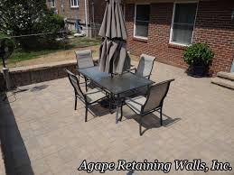 Paver Patio With Retaining Wall by Agape Paver Pictures 7