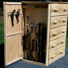 Built In Gun Cabinet Plans Best 25 Hidden Gun Storage Ideas On Pinterest Gun Storage Gun