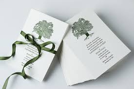 tree wedding invitations tree letterpress wedding invitations