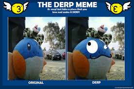 mudkip derp meme by bubbles42 on deviantart