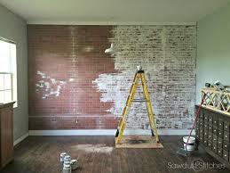 Faux Walls How To Faux Brick Wall Brick Walls Brick And Faux