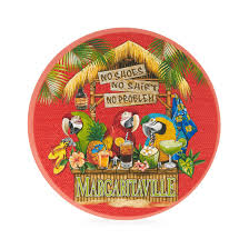 margaritaville cartoon tiki bar dinner plate margaritaville apparel store