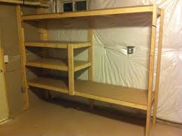 Basement Wooden Shelves Plans by Wood Shelves For Basement Kashiori Com Wooden Sofa Chair