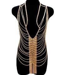 Draped Body Chain Draped Chain Body Jewelry My Style Pinterest Body Jewellery