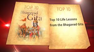 quotes about learning valuable lessons top 10 life lessons from bhagavad gita youtube
