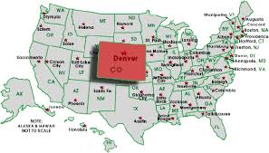 map salt lake city to denver download map us denver major tourist attractions maps denver