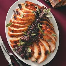 roast turkey recipe taste of home golden apricot glazed turkey breast recipe tables