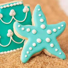 casamentos na praia decorando com estrelas do mar cookie