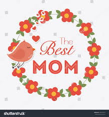 happy mothers day card design vector stock vector 263374535