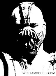 batman stencil dark knight