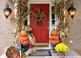 Pictures Of Front Porches Decorated For Fall - 25 fall front porch ideas you have to see a blissful nest
