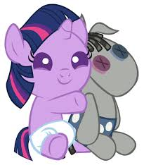 image baby twilight sparkle and smarty pants jpg my little
