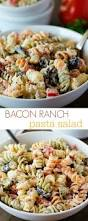 best 25 bacon ranch pasta salad ideas on pinterest cold side